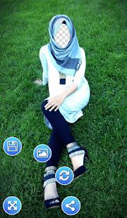 Hijab Selfie Photo Frames - náhled