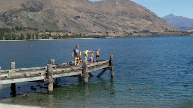 Photo: We had a short break at Lake Wanaka also.