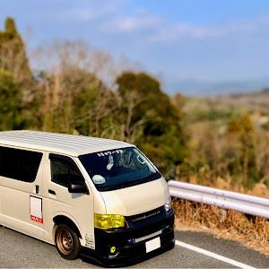 ハイエースバン TRH200V SUPER GL 2018年式のカスタム事例画像 keiji@黒バンパー愛好会さんの2020年01月03日14:06の投稿