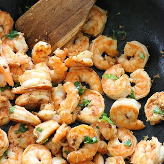 Garlic Lime Shrimp With Cilantro Recipes
