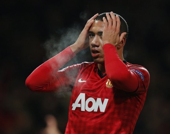Manchester United's Chris Smalling. Picture: REUTERS
