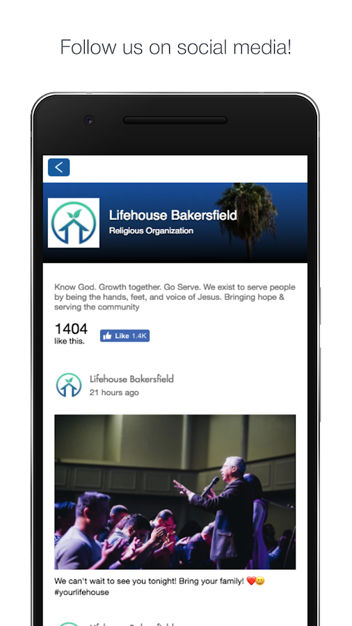 Lifehouse Bakersfield- screenshot