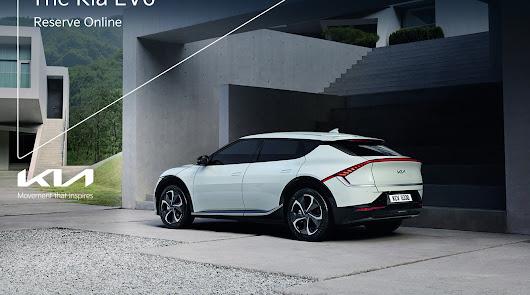 Automóviles Robe acepta reservas del nuevo KIA EV6