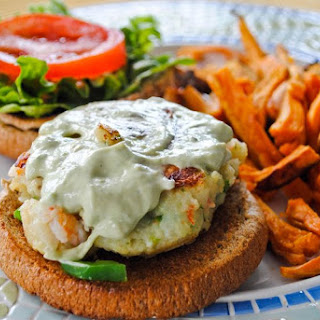 The World's Most Amazing Shrimp Burgers.