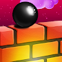 Maze Ball Runner : Zigzag 3D wall puzzle APK icon