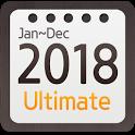 Calendar Widget 2018 Ultimate icon