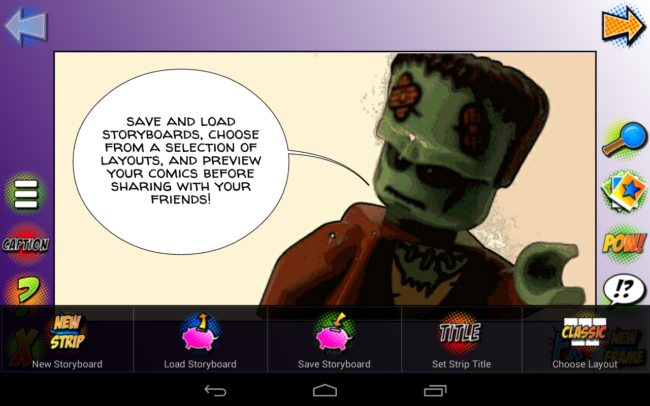 Comic Strip pro- screenshot