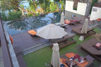 Photo: Pool area