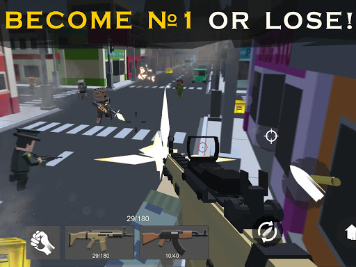 Shooting RULES OF BATTLE: Royale Online Pixel FPS 1.7 screenshots 6