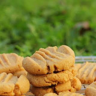 Buttery Peanut Butter Cookies.