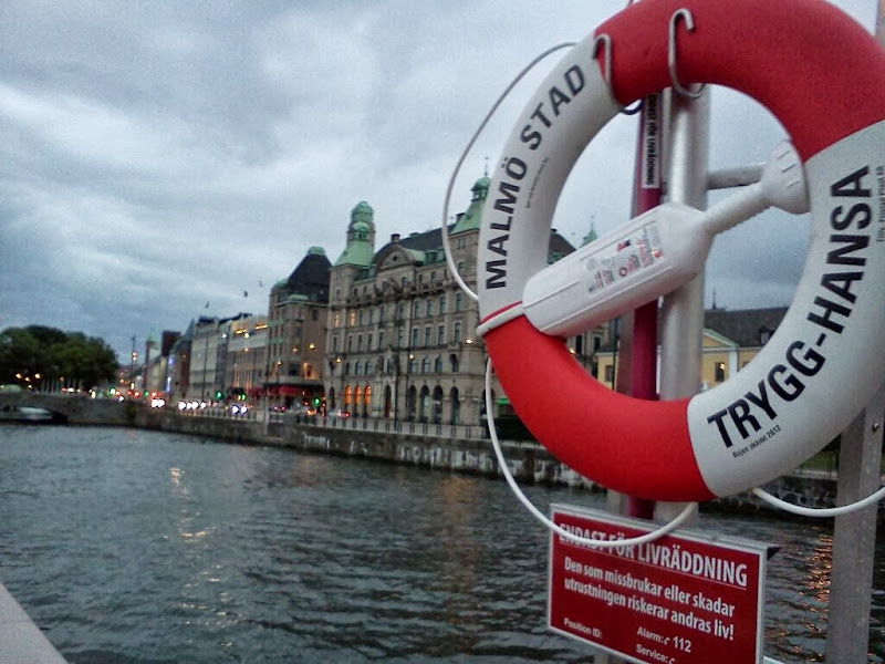 Photo: The trip started in Malmo, Sweden