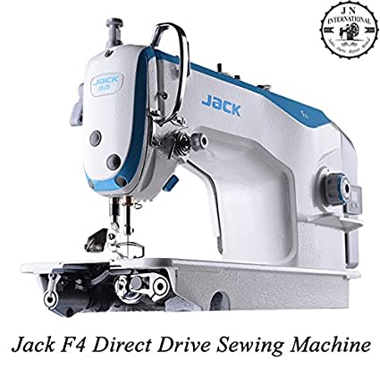 JACK F4 INDUSTRIAL SINGLE NEEDLE SEWING MACHINE COMPLETE SET