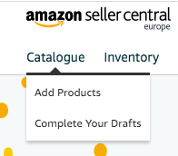 Add product to amazon