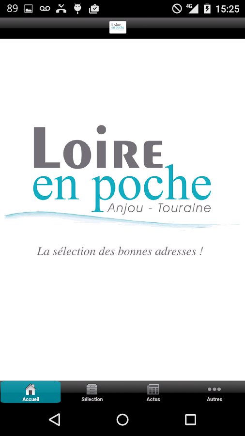 Loire en poche- screenshot