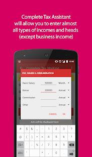 tax assistant pakistan screenshot thumbnail tax assistant