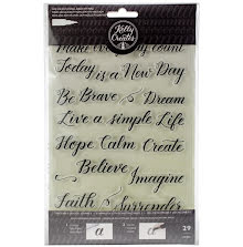 Kelly Creates Acrylic Traceable Stamps - Quotes 3