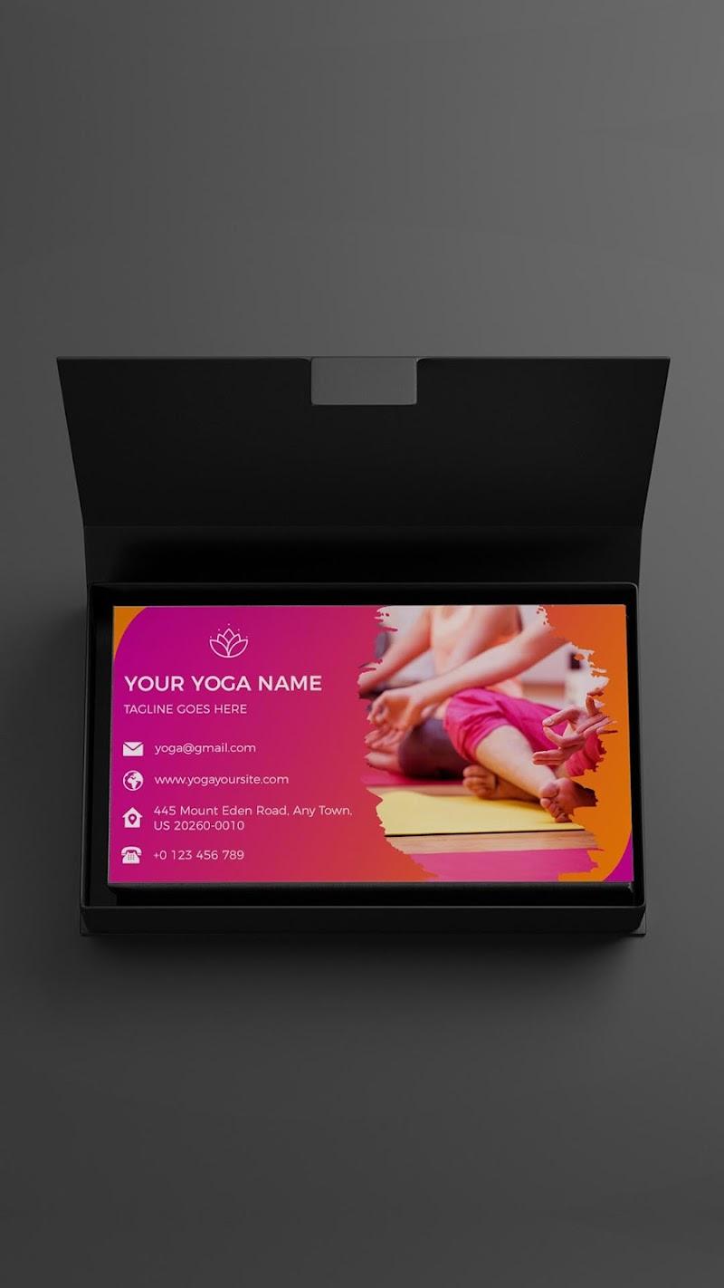 Business Card Maker - Branding Template Editor Screenshot 2