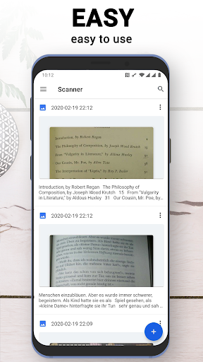 Easy OCR - text scanner, image to text easily screenshots 2