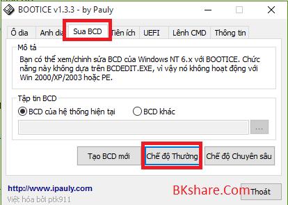 Hướng dẫn tạo Dual Boot trên ổ cứng UEFI - GPT