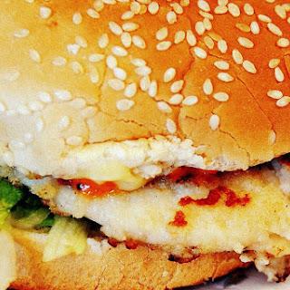 Bondi Portugese Chicken Burger.