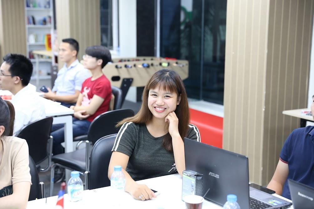 Hình ảnh kết thúc khoá học SEO tiêu chuẩn K46