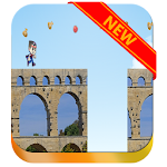 Adventure running of fred icon