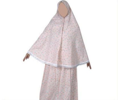 イスラム教の祈りのドレス