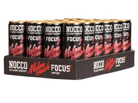 Nocco Focus 24 x 330ml - Melon Crush