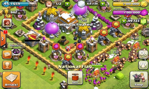 Coins Clash Of Clans COC
