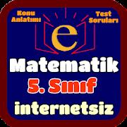 5. Sınıf Matematik İnternetsiz