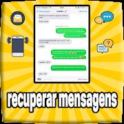 recuperar mensagens apagadas : conversas && sms