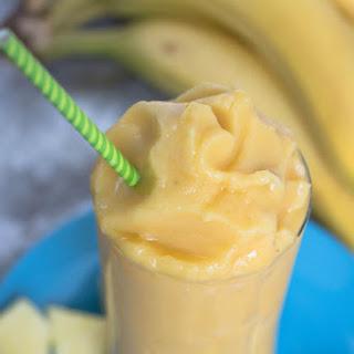 Jamba Juice Orange C-Booster Smoothie.
