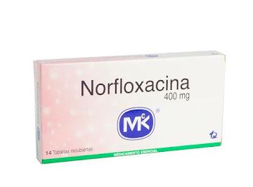 Norfloxacina MK 400mg Caja