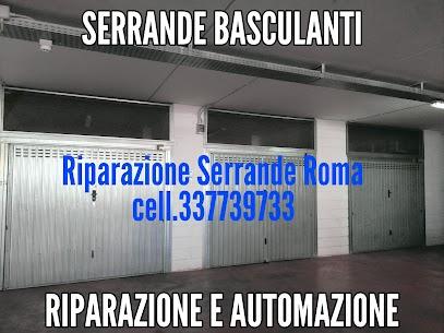 Riparazione serrande porte basculanti da garage o box auto EUR  Roma
