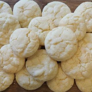 Lemon Crinkle Cookies.