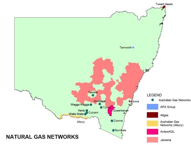 Gas network operators | NSW Government on