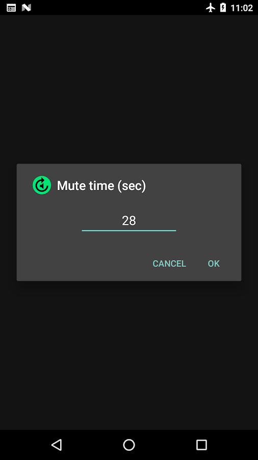 Music ad blocker Tap to Mute- screenshot