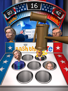 Bash the Vote Trump vs Clinton- screenshot thumbnail