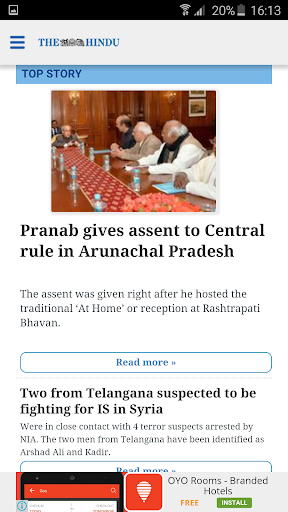 The Hindu News (Official app) app (apk) free download for Android/PC/Windows screenshot