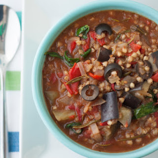 Mediterranean Vegan Vegetable Stew