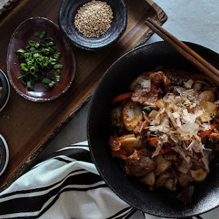 Stir-Fried Kimchi Rice Cakes.