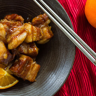 Orange-Spice Braised Pork Belly