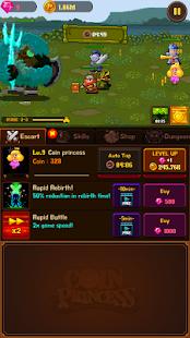 Coin Princess: Tap Tap Retro RPG Quest