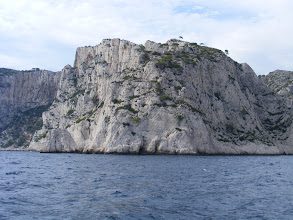 Photo: The cliffs at the Devenson calanque are up to 490 feet high, and are said to challenge the best rock climbers.