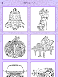 Mandala Coloring Book APK Screenshot Thumbnail 15