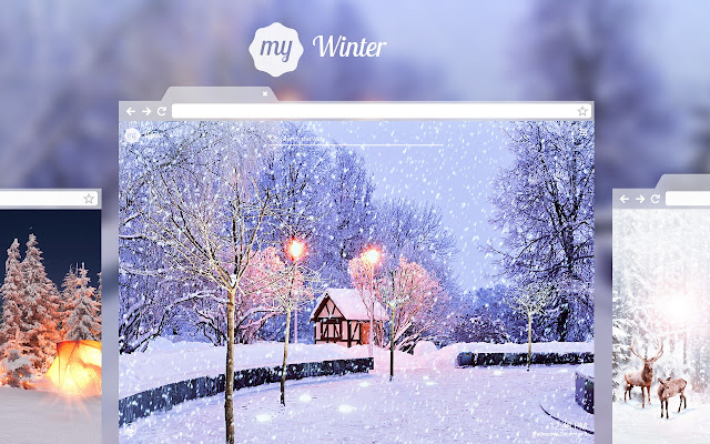 My winter hd wallpapers new tab theme chrome web store - Winter theme chrome ...