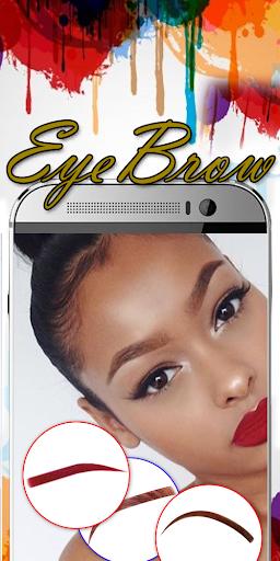 Eyebrow Shaping App - Beauty Makeup Photo 6.1 screenshots 23