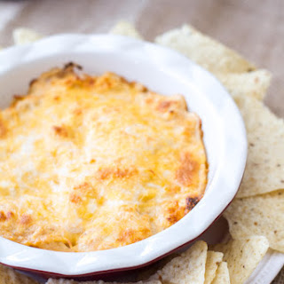 Cheesy Barbecue Chicken Dip.