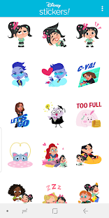 Ralph Breaks the Internet Stickers - WAStickers Screenshot