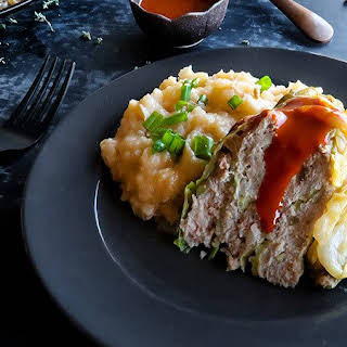 Pork and Cabbage Casserole.